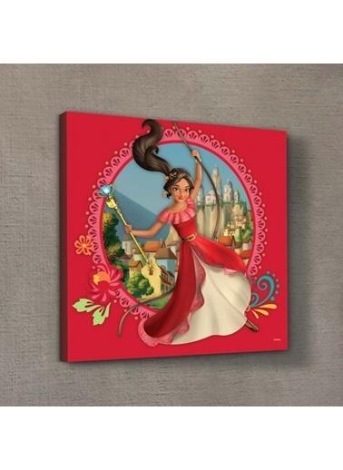 Disney Prenses Elena 50x50 cm Kanvas Tablo Renkli